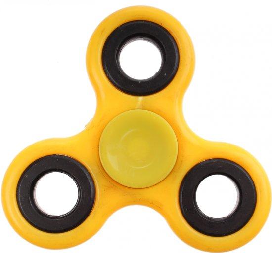 Afbeelding van het spel Amigo Fidget Spinner 7 X 7 Cm Geel