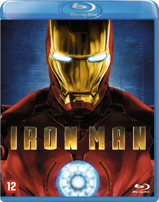 DVD cover van Iron Man (Blu-ray)
