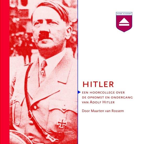 Boek cover Hitler van Maarten van Rossem (Onbekend)