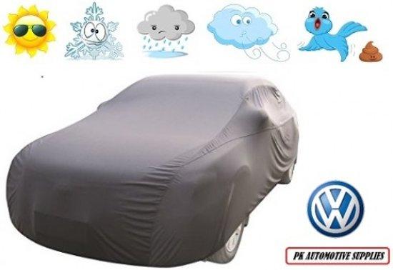 Autohoes Grijs Kunstof Stretch Volkswagen Tiguan 2008-2015