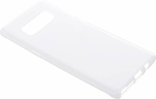 Softcase Backcover Samsung Galaxy Note 8 hoesje - Transparant