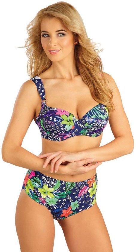 Zeer bol.com   Mix & Match Extra hoge taille bikini broekje Bloem IX25