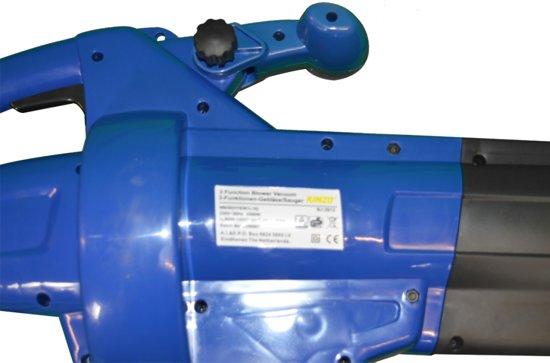 KINZO® Bladblazer 35490 - Met zuigfunctie - 2500 watt - opvangzak 45 l