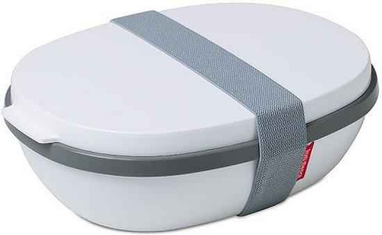 Mepal Ellipse Duo Lunchbox - 1.4L - Wit