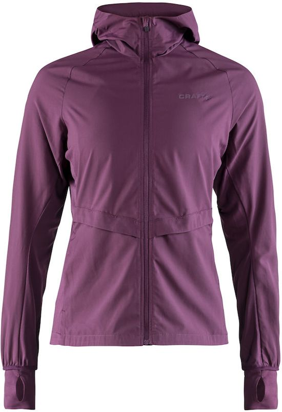 Craft Urban Run Hood Jacket Sportjas Dames - Tune - Maat M