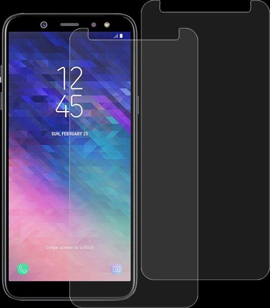Let op type!! 2 stk 0 26 mm 9H 2.5D getemperd glas Film voor Galaxy A6 (2018)
