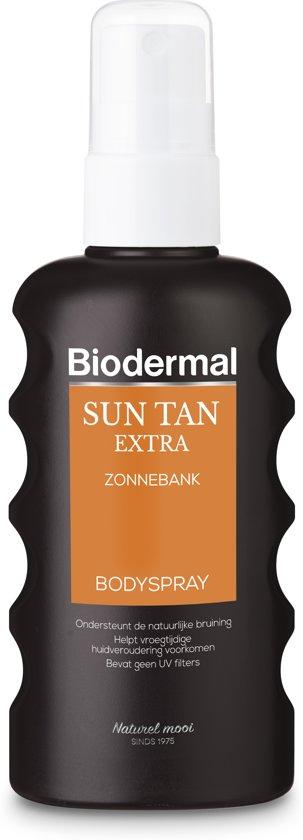 Biodermal zonnebankcreme - sun-tan extra spray - 175 ml