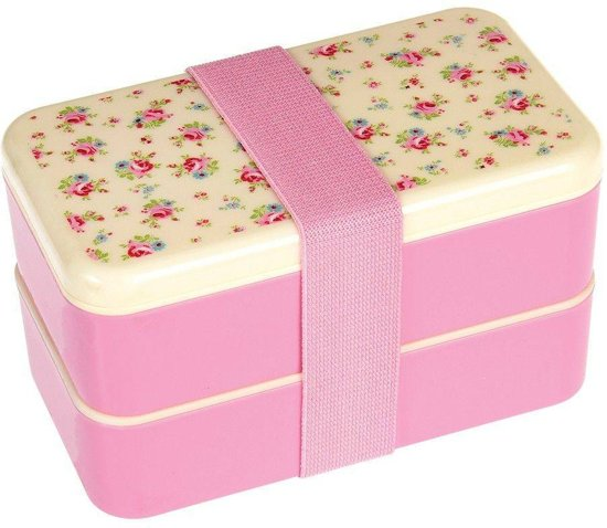 a00e4e1e08c202 bol.com | Rex London Bento Box Petite Rose large Roze