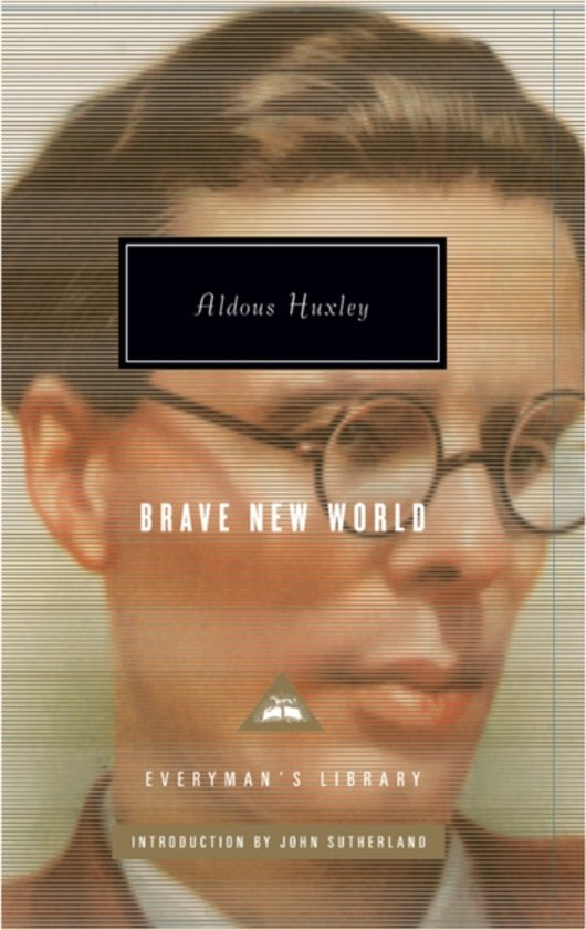Boek cover Brave New World van Aldous Huxley (Hardcover)