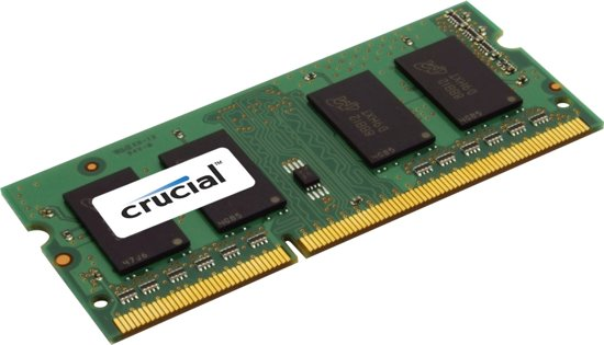 Crucial CT25664BF160BJ 2GB DDR3L SODIMM 1600MHz (1 x 2 GB)
