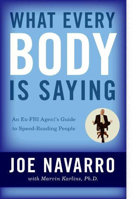 Boek cover What Every BODY is Saying van Joe Navarro (Paperback)