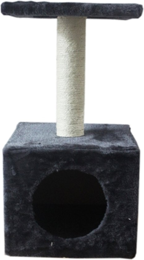 Akp Amethyst - Krabpaal - Grijs - 32 x 32 x 58 cm