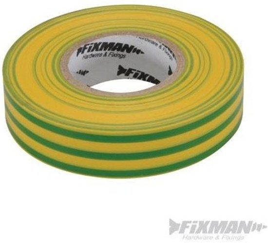 FIXMAN Isolatietape 50 Mm X 33 M, Geel