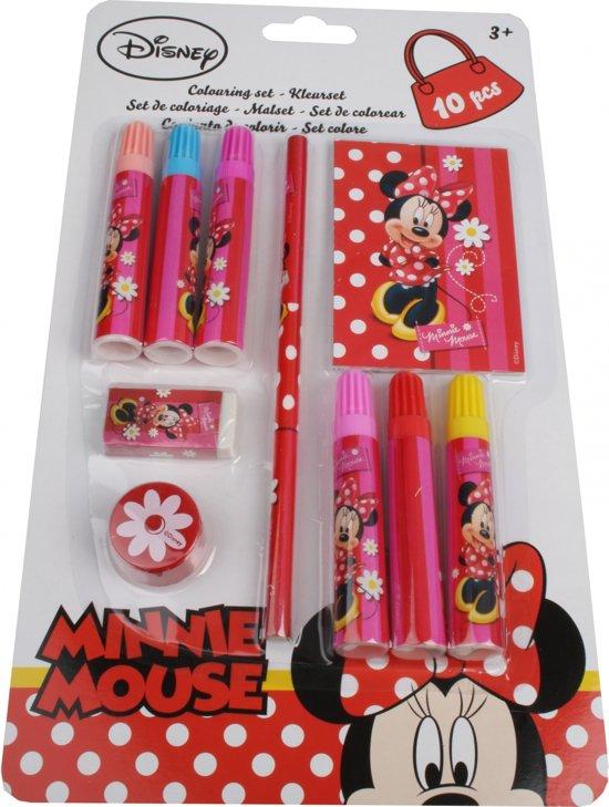 Bol Com Disney Minnie Mouse Kleurset 10 Delig Disney Speelgoed