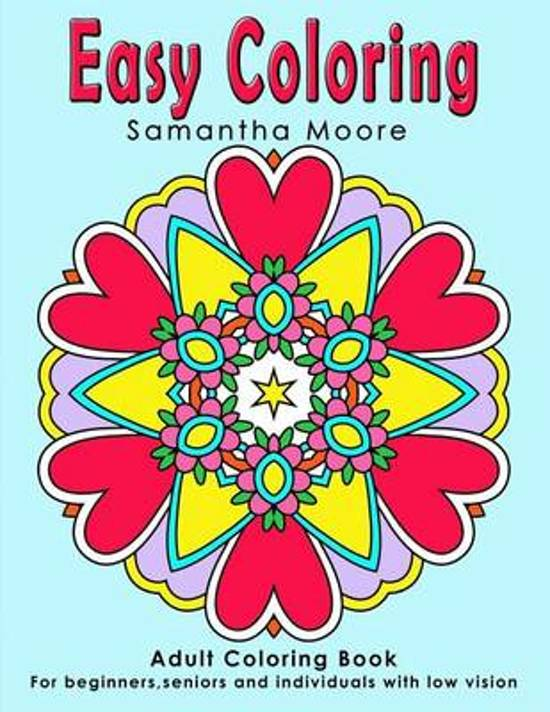 Bol Com Easy Coloring What A Colourful World Samantha Moore