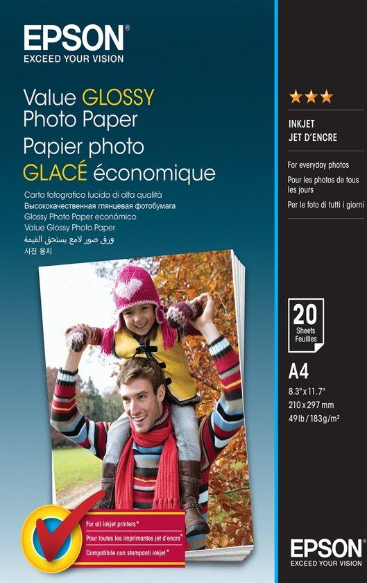 Epson C13S400035 A4 Glans pak fotopapier