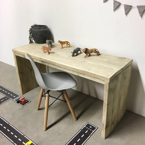 Computertafel Van Steigerhout.Bol Com Steigerhouten Speeltafel 100x38x40
