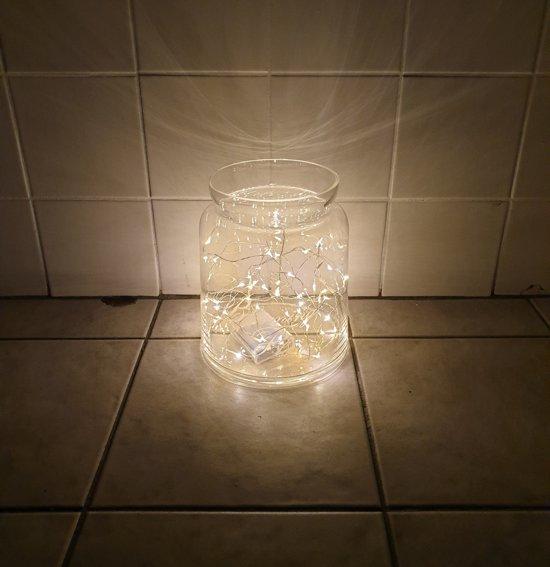 50 Led koper lichtdraad, decoratie voor in huis Valentinaa