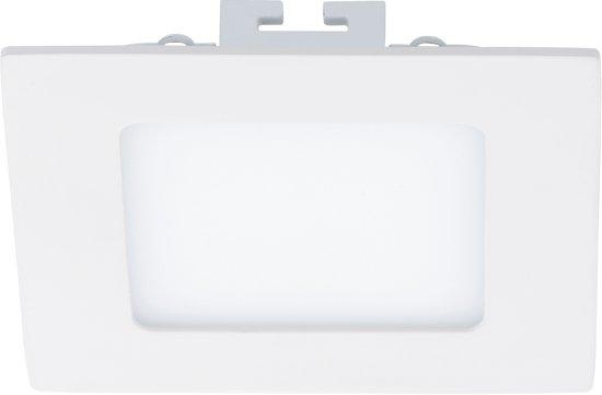 EGLO Fueva 1 - Inbouwspot - LED - Wit - 3000K - 600lm