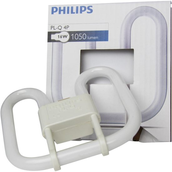 Philips PL-Q 16W/827/4P