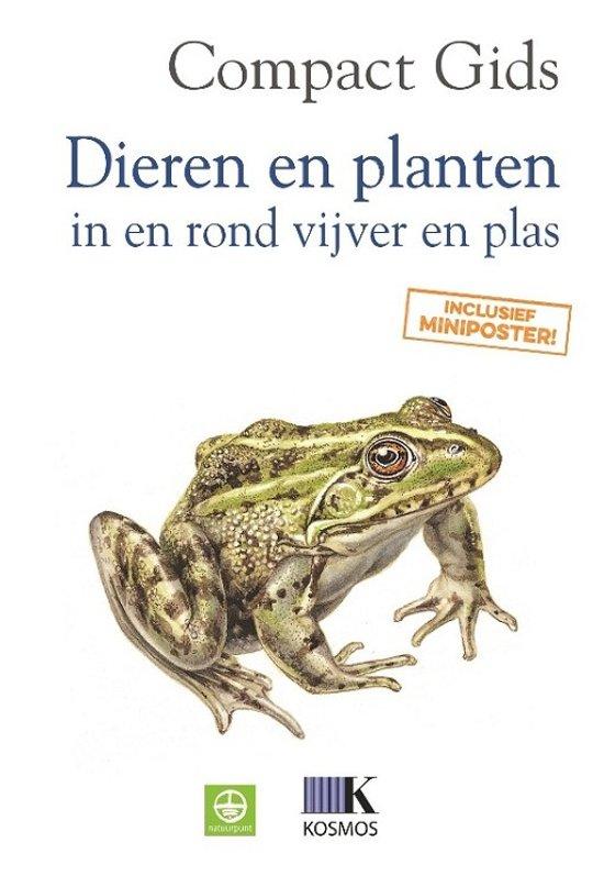 Compact gids dieren en planten in en rond vijver en plas