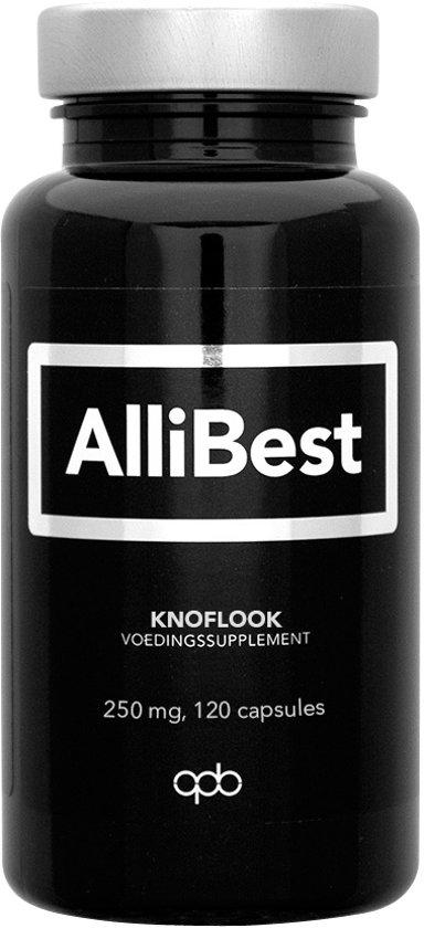 Allebest Knoflook 250mg 120 capsules