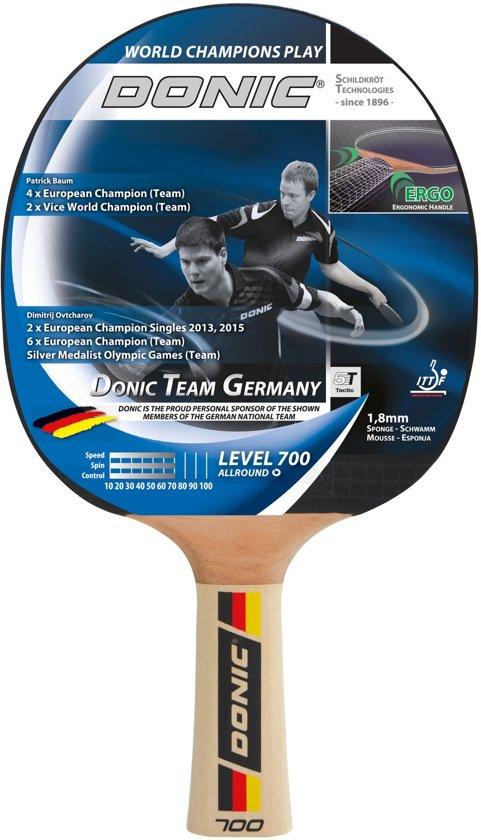 Donic Schildkröt Tafeltennisbat Team Germany 700 Zwart