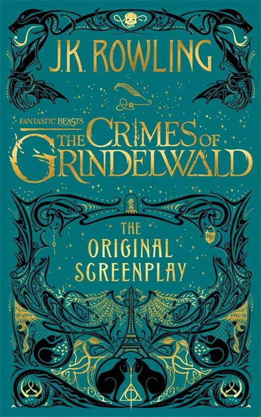 Boek cover Fantastic Beasts: The Crimes of Grindelwald - The Original Screenplay van J.K. Rowling (Onbekend)