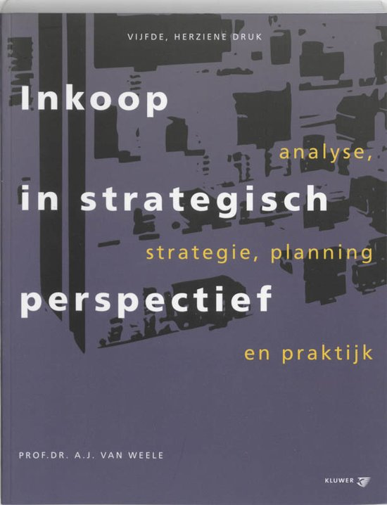 Inkoop in strategisch perspectief