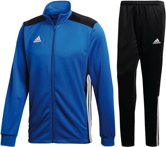 adidas Trainingspak - Maat L  - Mannen - blauw/zwart