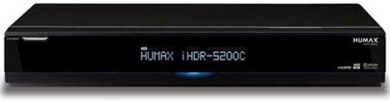 Humax iHDR 5200C -Kabelontvanger-Mediaspeler-Zwart