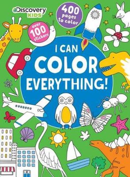 bol.com | Discovery Kids I Can Color Everything!, Parragon Books Ltd ...