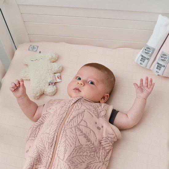 Lodger Baby slaapzak - Hopper BotAnimal - Roze - Lange mouw - 50/62