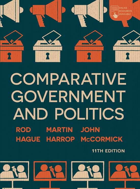 Boek cover Comparative Government and Politics van John Mccormick (Onbekend)