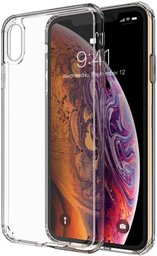 Apple iPhone XS / X Hard Crystal Hoesje Transparant