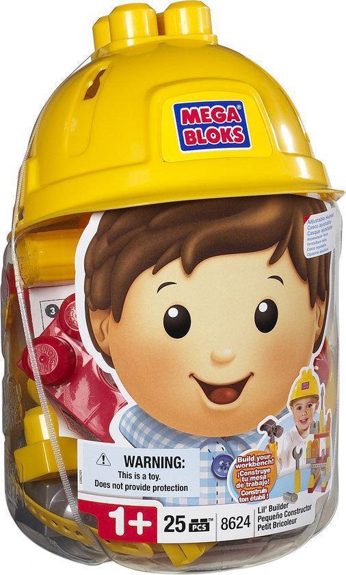 Mega Bloks Bouwvakker Helm