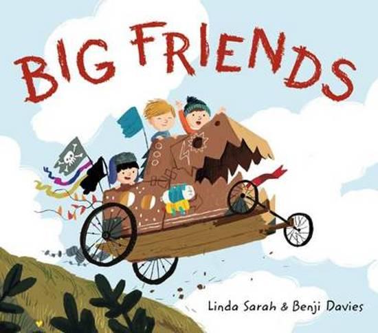 Boek cover Big Friends van Linda Sarah (Hardcover)
