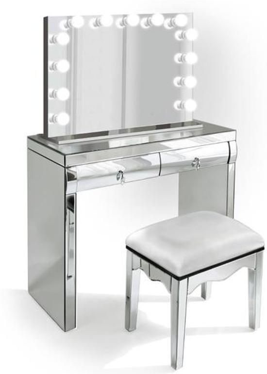 Wonderbaar bol.com | BRIGHT BEAUTY spiegel make up tafel met LED spiegel XI-98