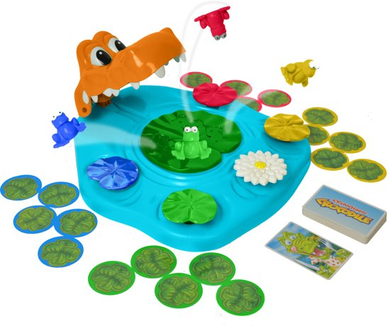 Afbeelding van het spel TOMY Knagende Krokodillen Spel - Kinderspel
