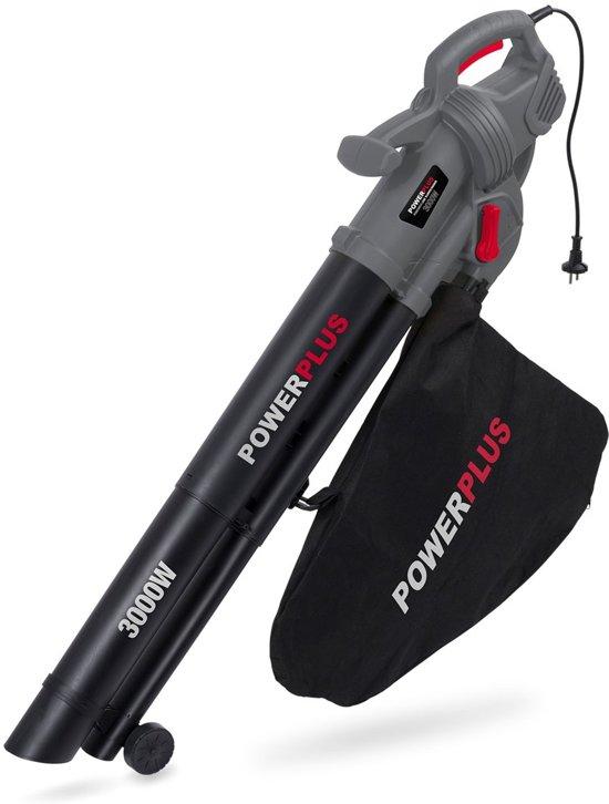 Powerplus POWEG9010 Bladblazer & -zuiger (blazen, zuigen & versnipperen) - 3000 W- Opvangzak 35 l