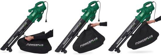 Powerplus POW63172 Bladblazer & -zuiger - 3000 W - met 35l opvangzak