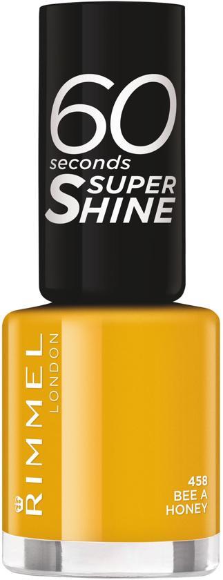 Rimmel London 60 seconds supershine - 458 Bee a Honey - Nagellak