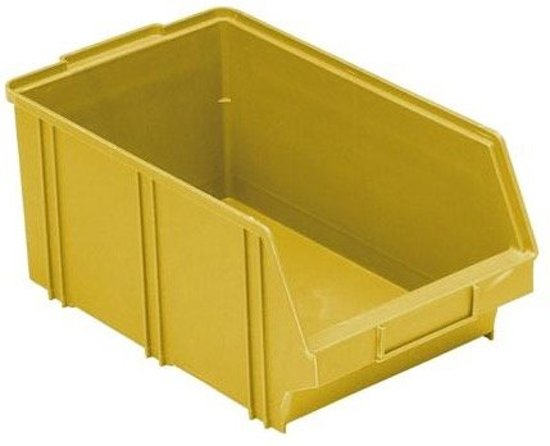 ERRO Stapelbak B4 – 15,5x21x33 cm - Geel