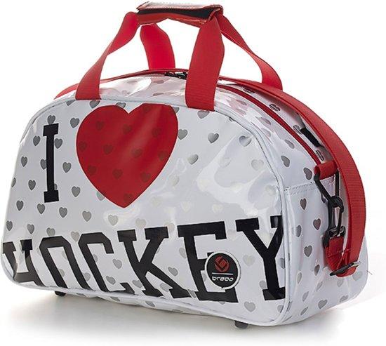 8f76c08a1de bol.com | Brabo Love - Hockey schoudertas - Junior - Meisjes - Wit Red