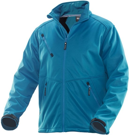 1208 Soft Shell Jacket Petrol xxl