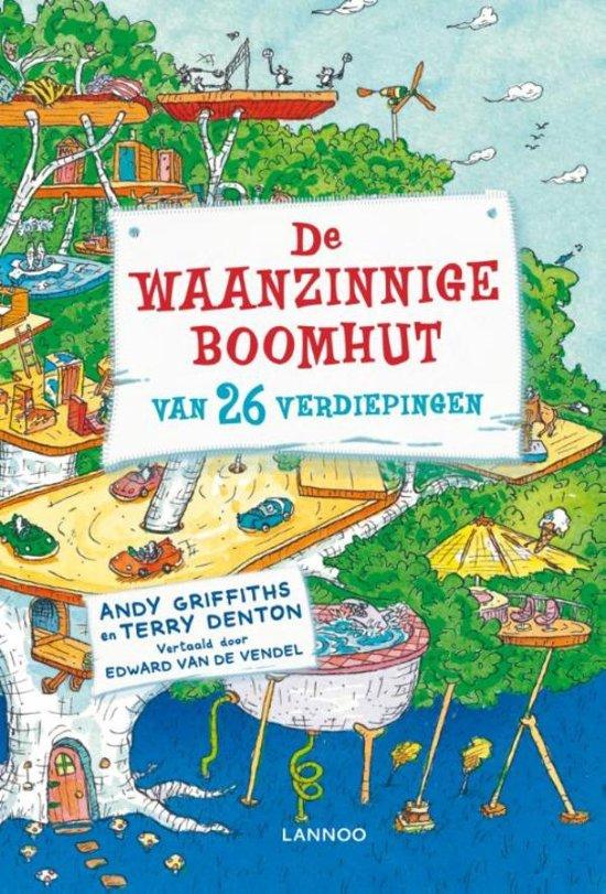 Boek cover De waanzinnige boomhut 2 - De waanzinnige boomhut van 26 verdiepingen van Andy Griffiths (Onbekend)
