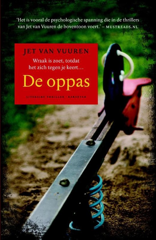 Boek cover De oppas van Jet van Vuuren (Paperback)