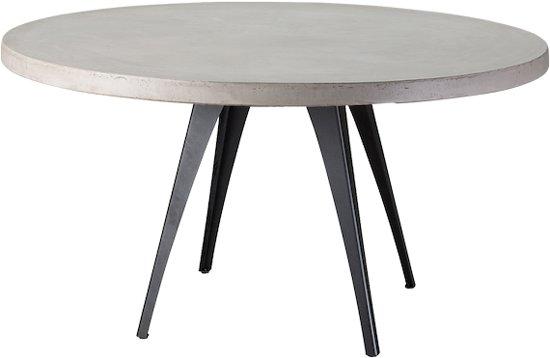 Ronde Tafel Diameter 150 Cm.Table Du Sud Beton Ronde Tafel Xavier 150 Cm