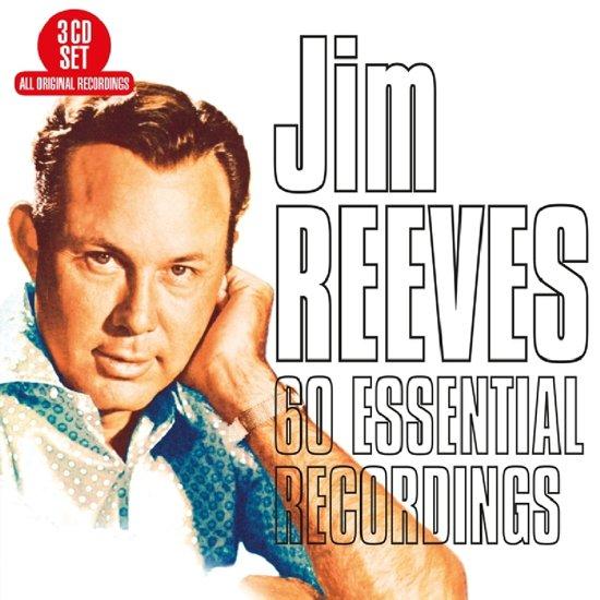 CD cover van 60 Essential Recordings van Jim Reeves