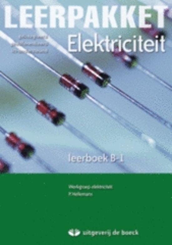 Leerpakket elektriciteit b 1 leerboek cd rom